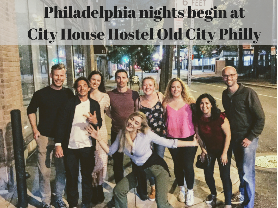 City House Hostel Philadelphia nights out