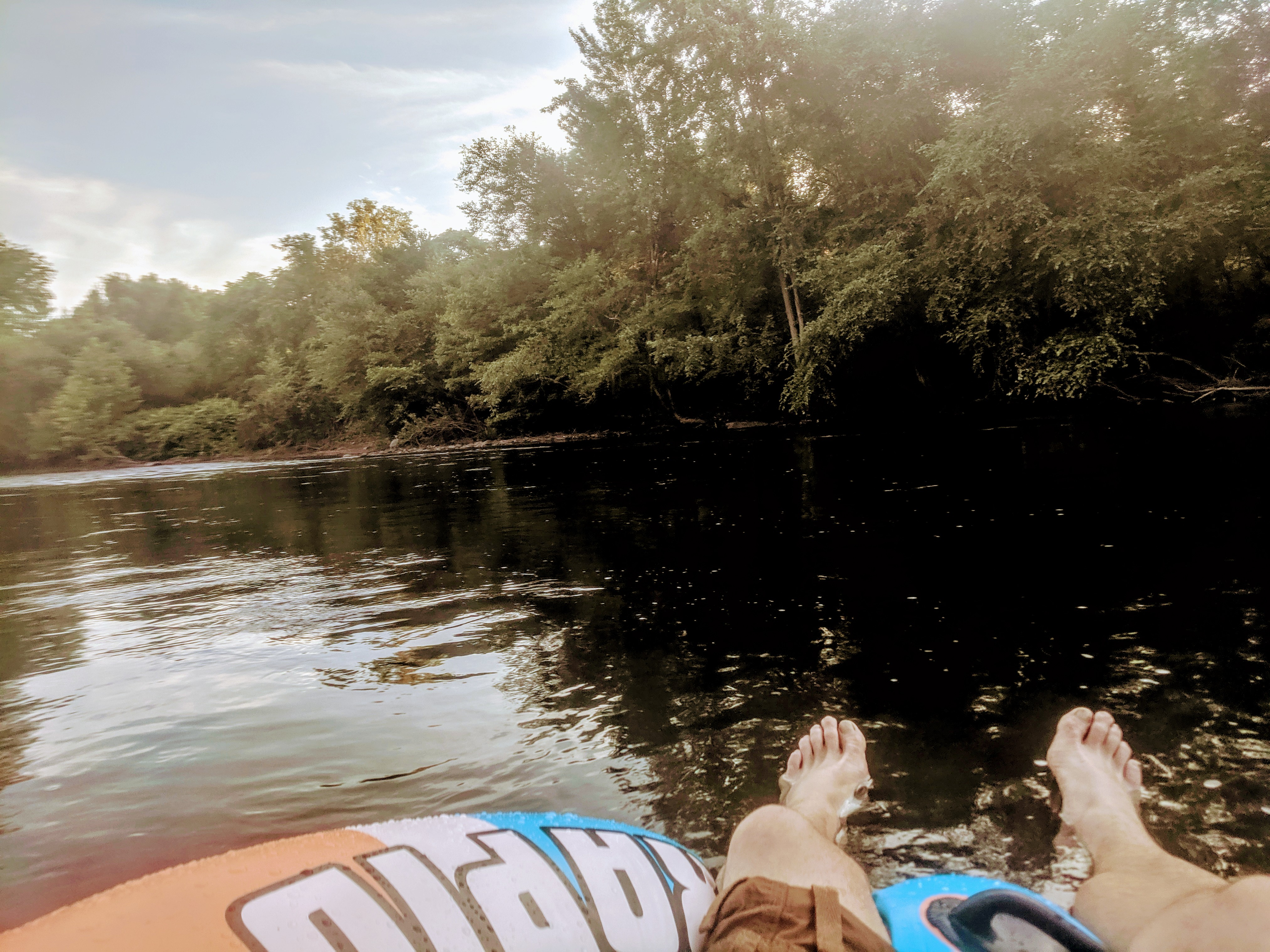Tubing on the Lehigh River