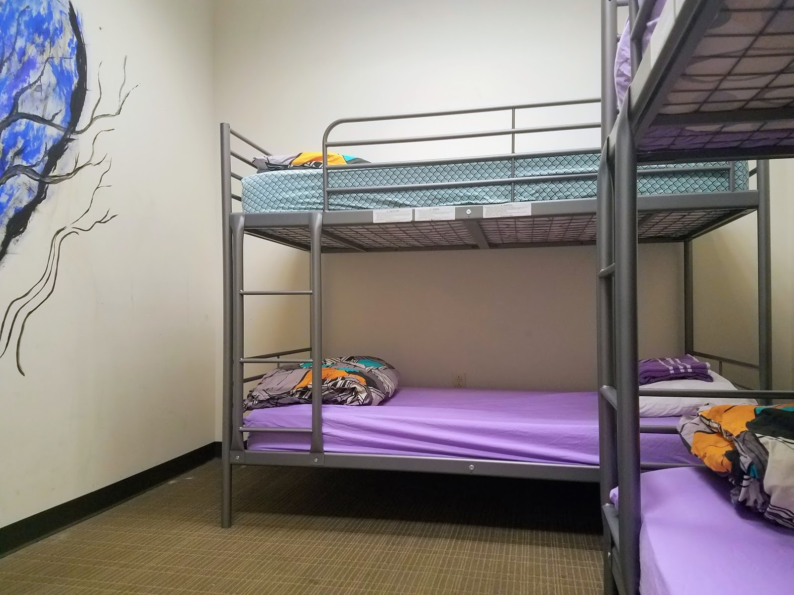 4 Bed Mixed Dorm Room